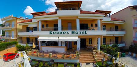 Kouros Hotel Vrachos Beach